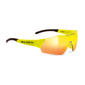 Rudy Project Ergomask racing pro-yellow fluo/multilaser orange